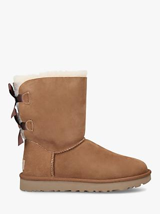 UGG Bailey Bow II Leather Calf Boots