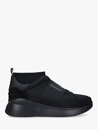 UGG Neutra Leather Pull On Trainers, Black