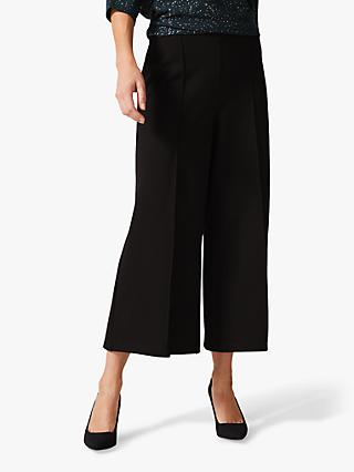 Phase Eight Lenka Full Length Trousers, Black