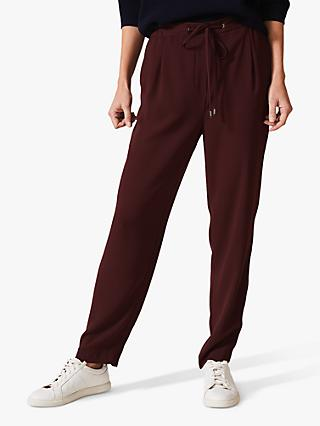 Phase Eight Anika Joggers, Claret