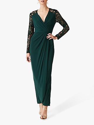 Phase Eight Melony Sequin Dress, Emerald