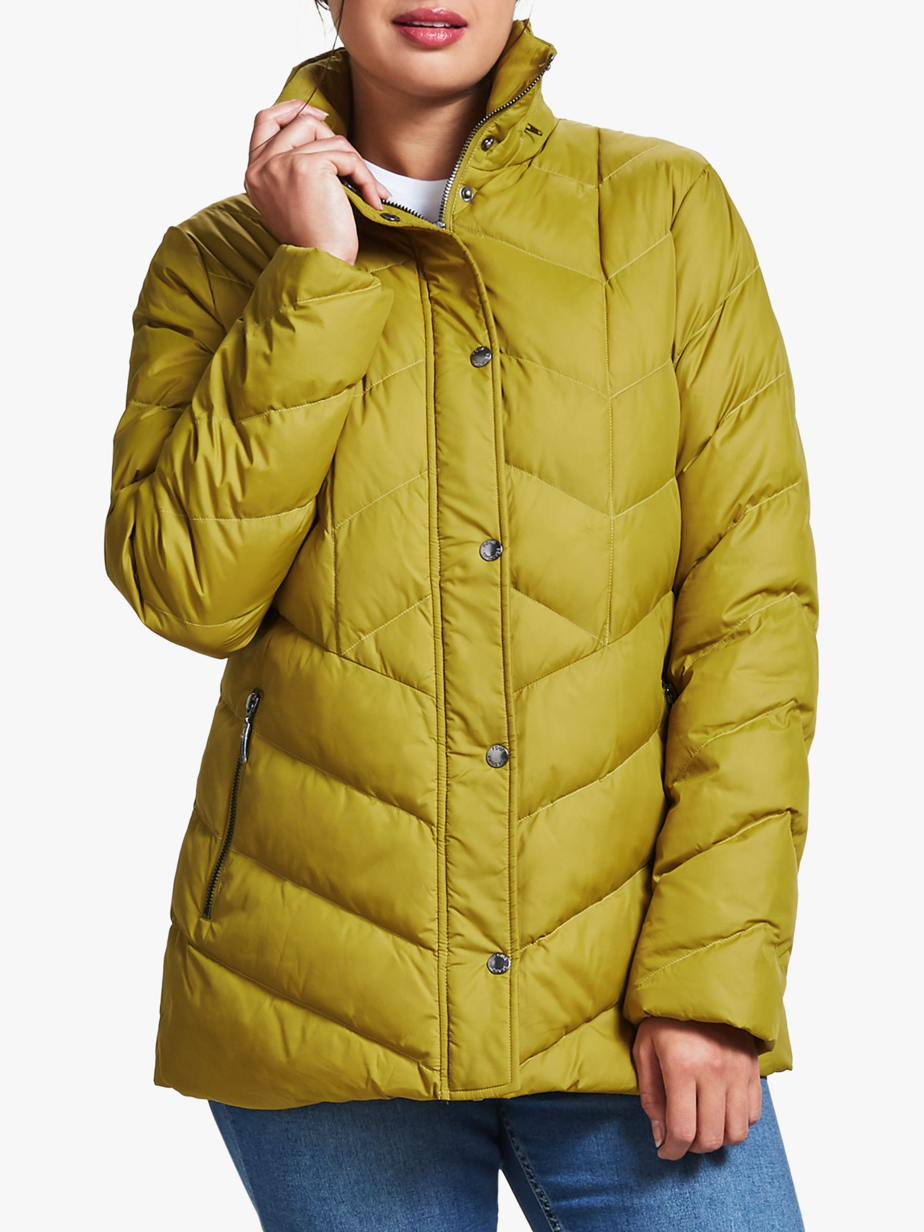 Four Seasons Four Seasons V-Shaped Quilted Jacket