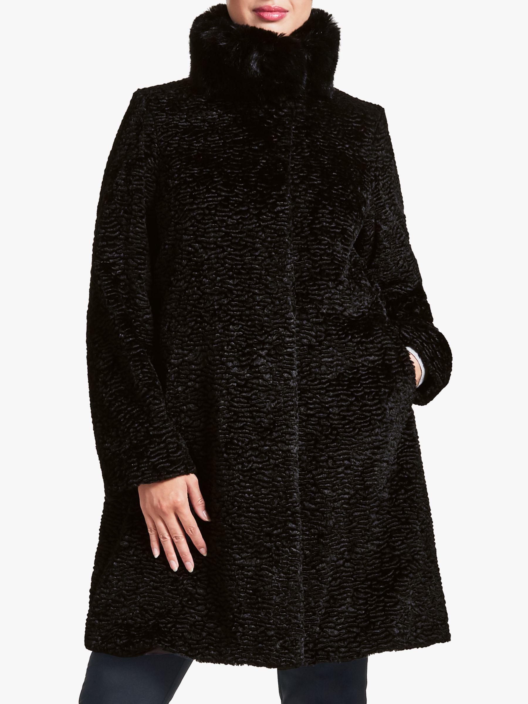 Four Seasons Four Seasons Astrakhan Faux Fur Coat