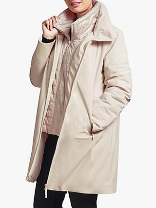 Four Seasons Double Layer Three Quarter Length Coat