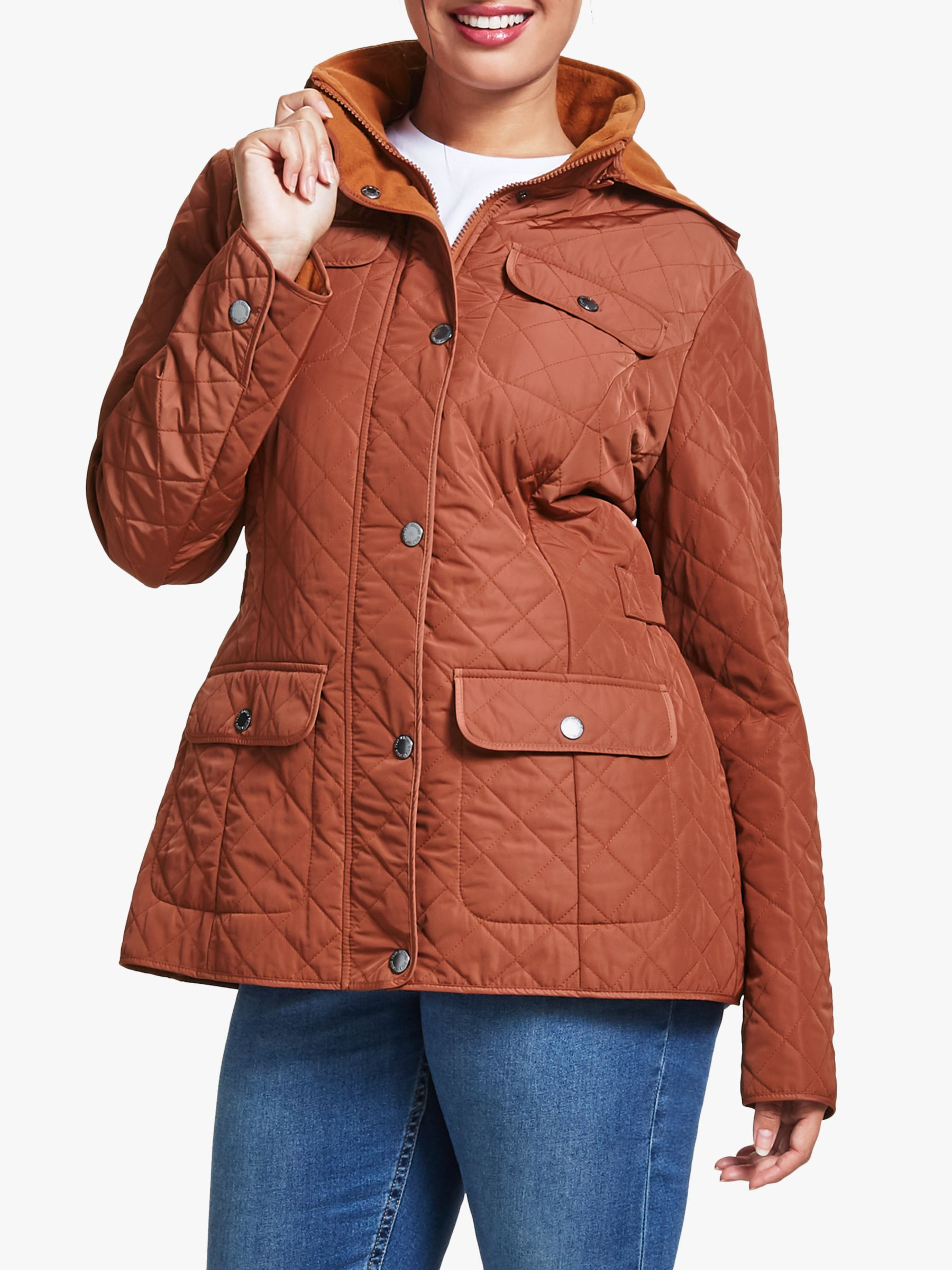 Four Seasons Four Seasons Polar Quilted Fleece Jacket