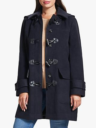 Four Seasons Plain Duffle Coat