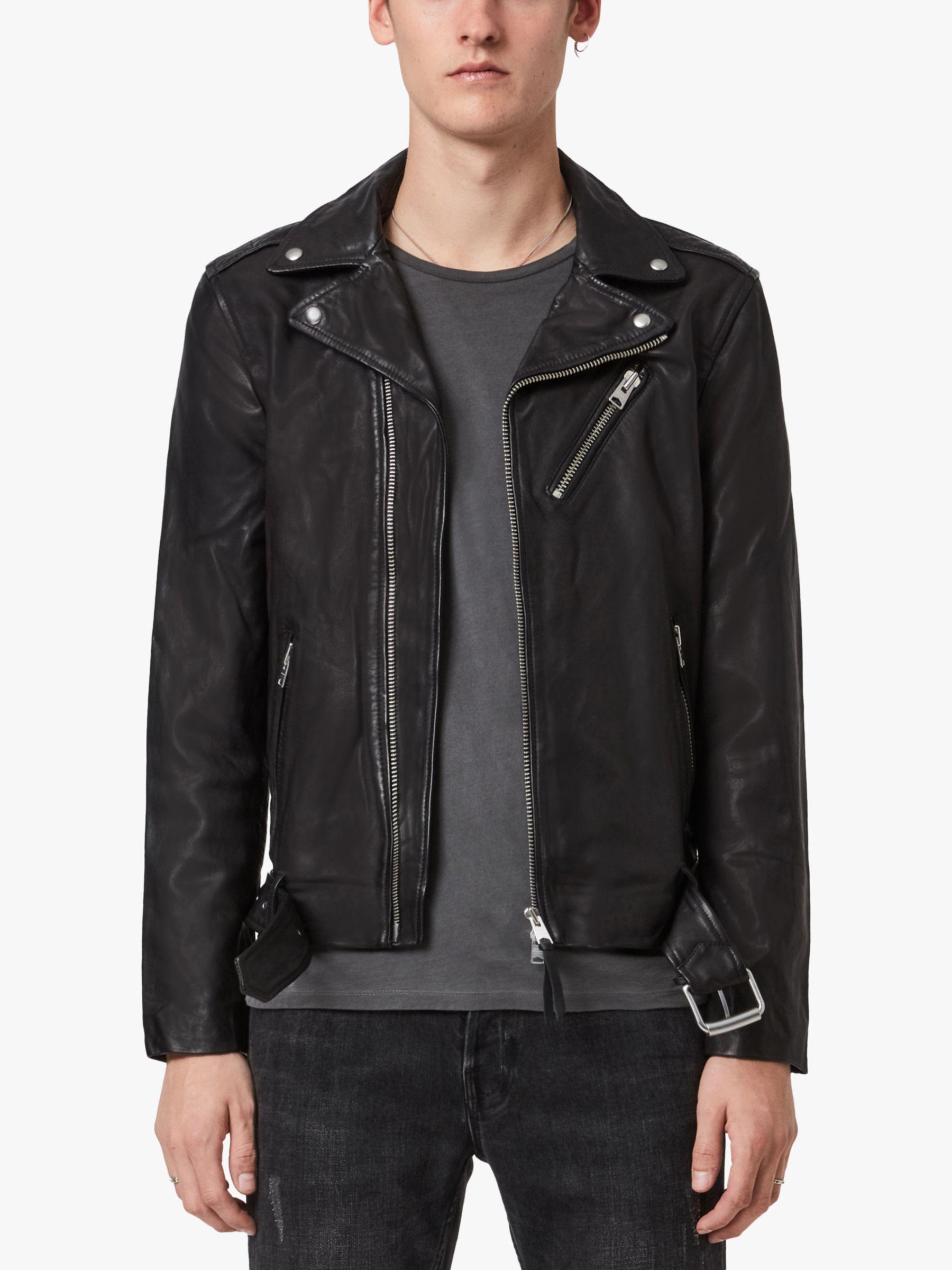 AllSaints AllSaints Riggs Biker Jacket, Black