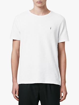 AllSaints Muse Crew Neck T-Shirt, Optic White