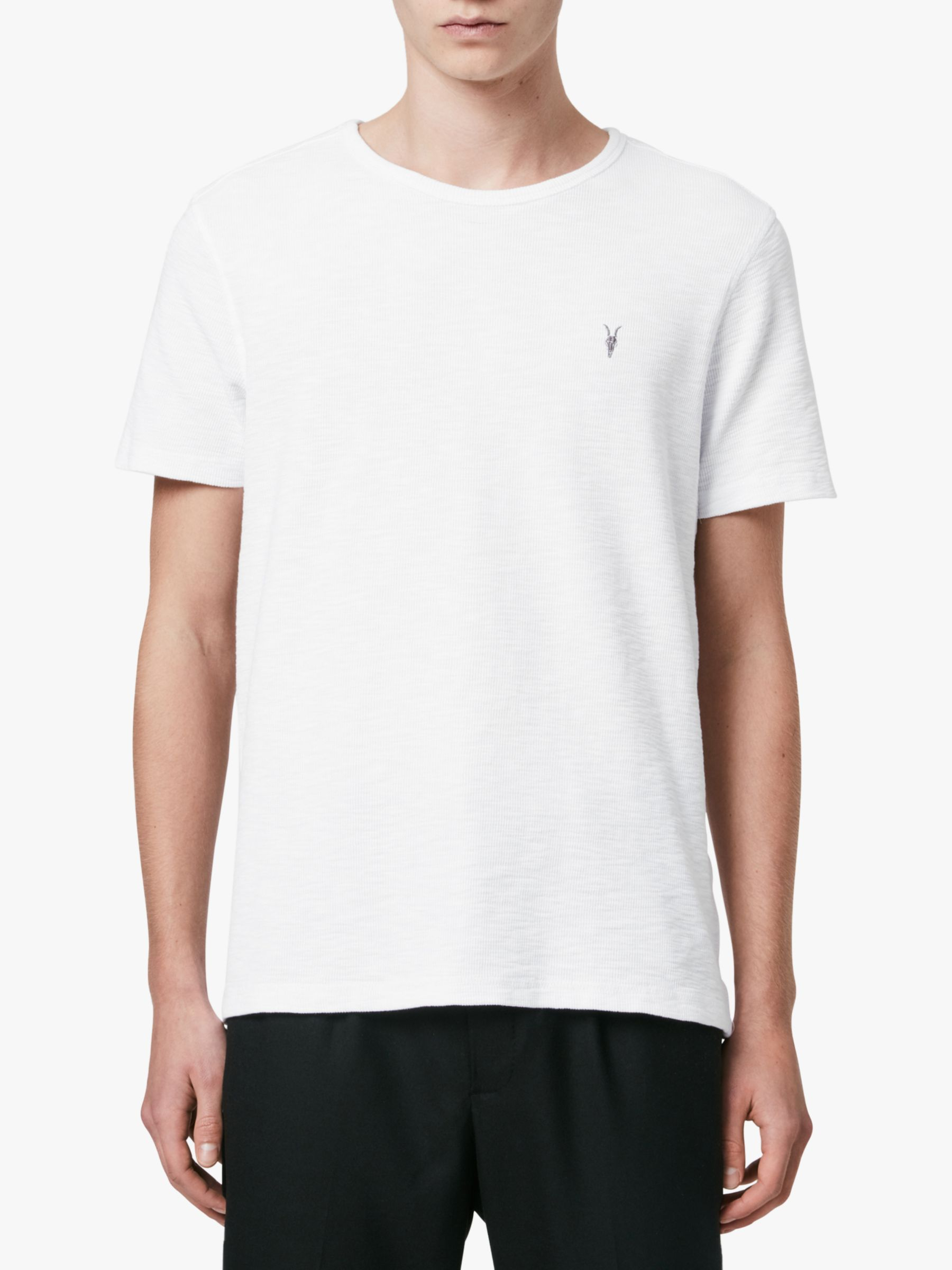 AllSaints AllSaints Muse Crew Neck T-Shirt, Optic White