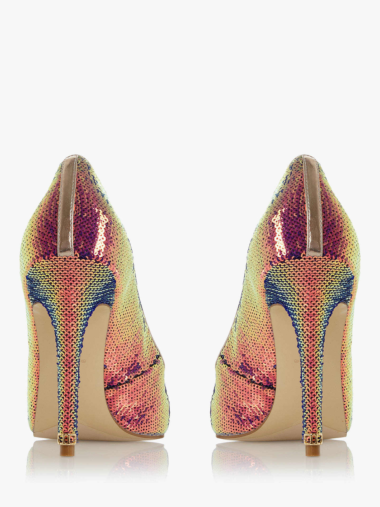 Buy Dune Amaretto Court Shoes, Multi, 3 Online at johnlewis.com