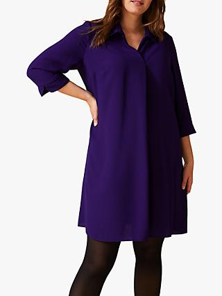 Studio 8 Bette Shirt Swing Dress, Violet
