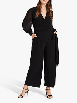 Studio 8 Denver Wrap Jumpsuit, Black