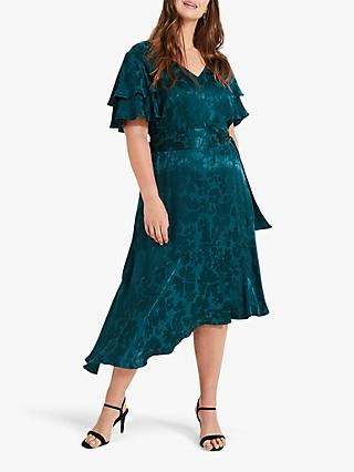 Studio 8 Lavinia Jacquard Dress, Green