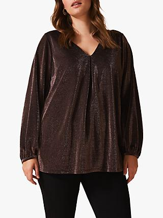 Studio 8 Suzanna Sparkle Top, Bronze