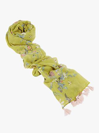 Oasis Fantastical Scarf, Mid Yellow