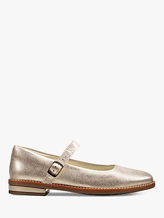Kleidung & Accessoires Girls Clarks T Bar School Shoes 'Drew