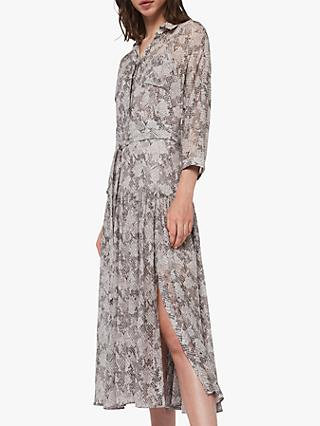 AllSaints Eley Midgard Dress, Grey
