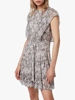 AllSaints Evely Midgard Dress, Grey