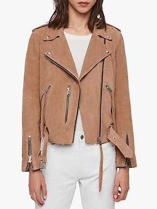 76847fb8f Women's Leather Jackets | Outerwear | John Lewis & Partners