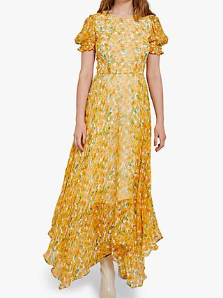 Ghost Fleur Dress, Yellow