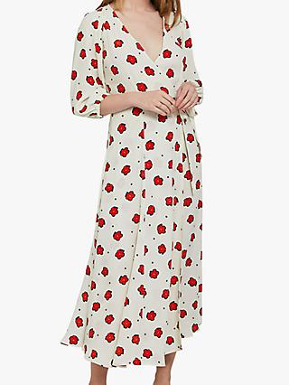 Ghost Aueline Floral Print Dress, Judy Garland Floral