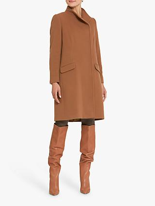 Helen McAlinden Linda Camel Coat, Brown