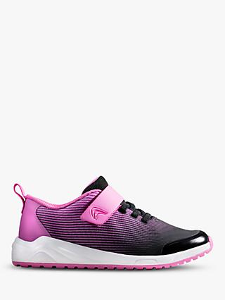 Clarks Children's Aeon Pace Riptape Trainers