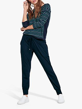 hush Sona Striped Jumper, Midnight/Jelly Bean