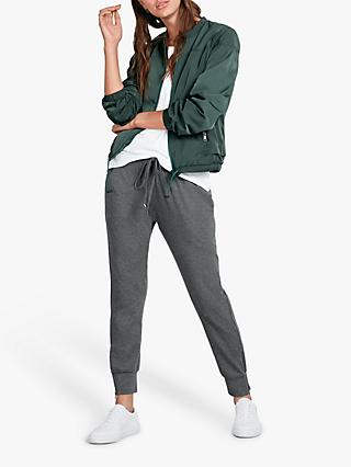 hush Sporty Bomber Jacket, Dark Forest