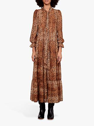 Gerard Darel Dayana Leopard Print Dress, Brown