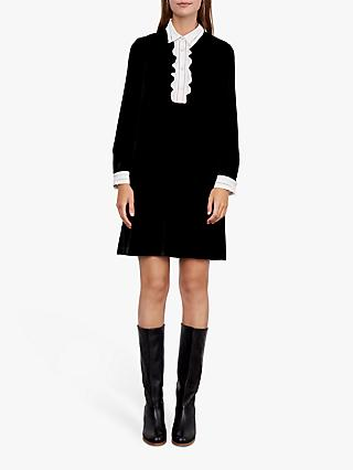 Gerard Darel Devy Mini Dress, Black