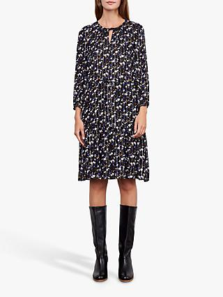 Gerard Darel Daniela Floral Print Dress, Black