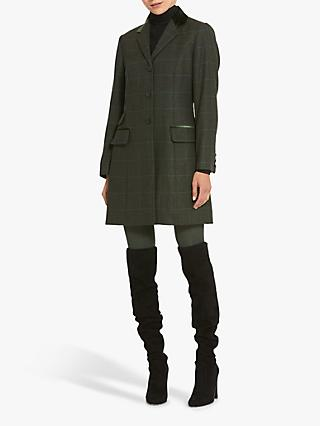 Helen McAlinden Kate Magee Tweed Jacket, Grey