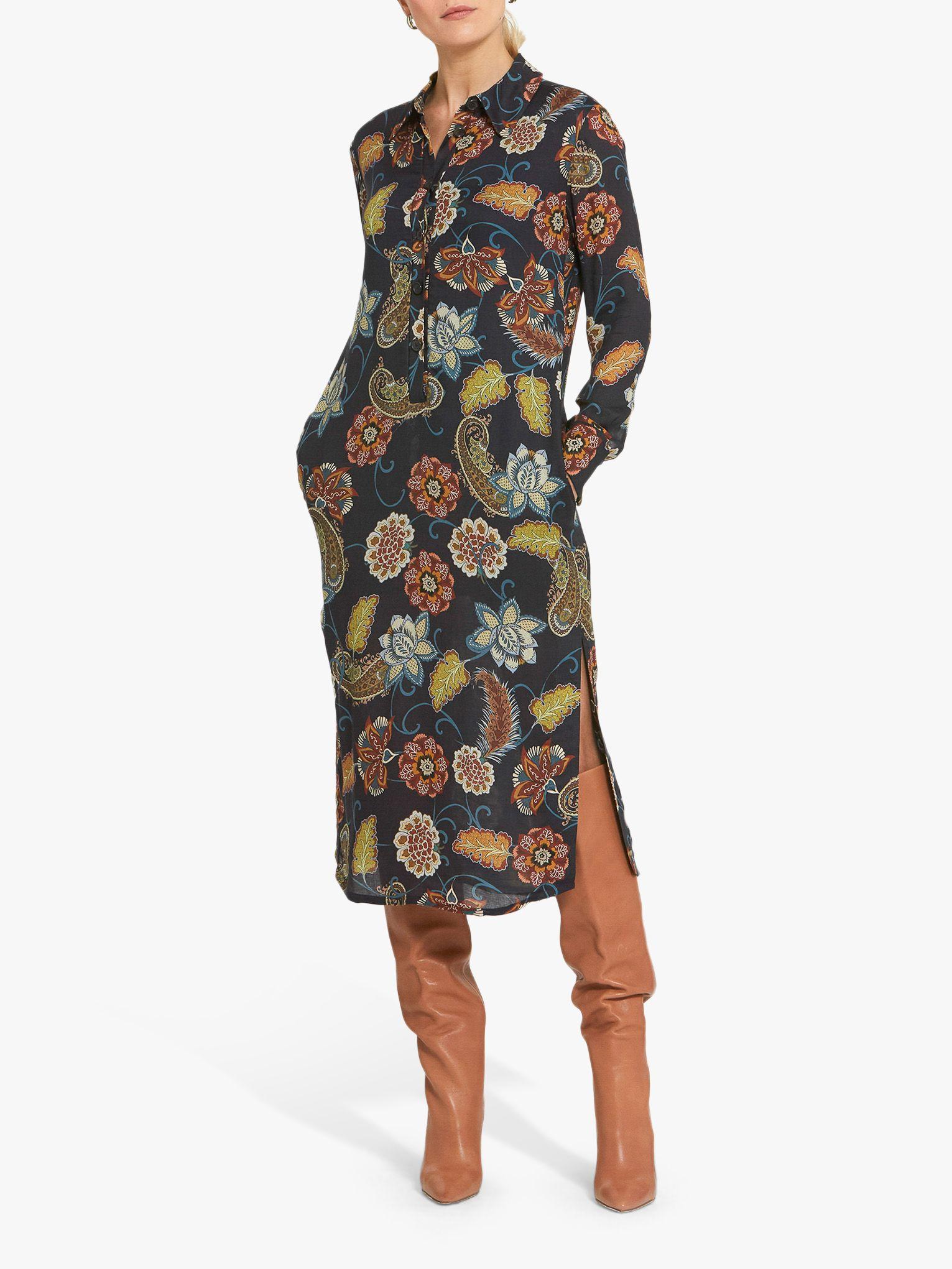 Helen McAlinden Helen McAlinden Kriss Printed Shirt Dress, Multi