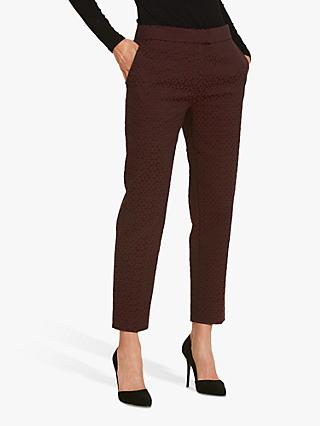 Helen McAlinden Jill Jacquard Tailored Trousers