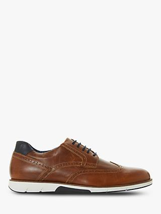 Dune Brawl Leather Brogues, Tan