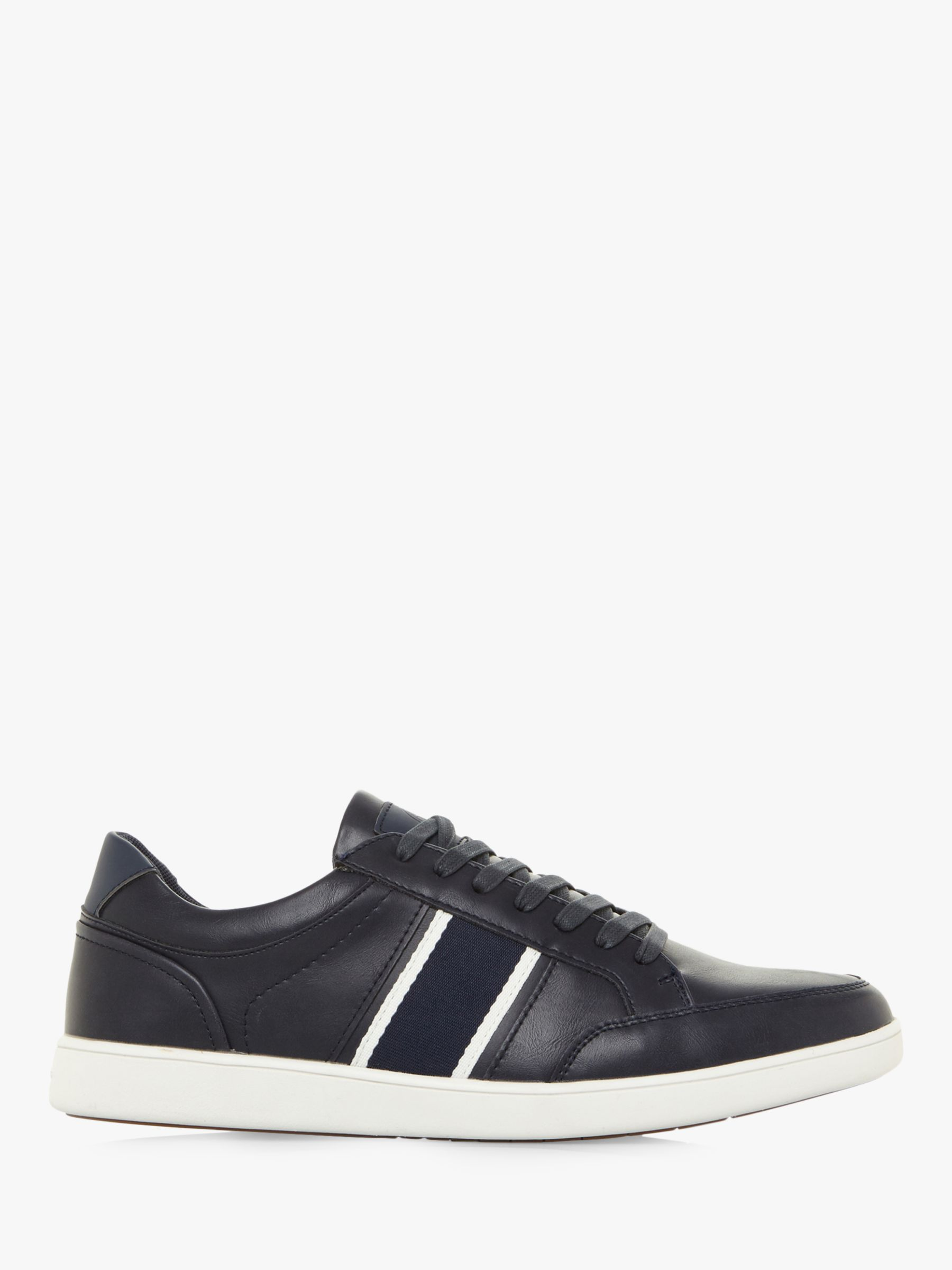 Dune Dune Terry Contrast Stripe Trainers, Navy