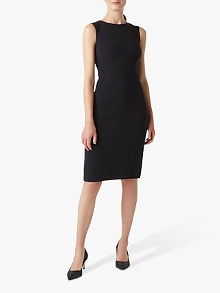 Hobbs Petite Mina Dress, Navy