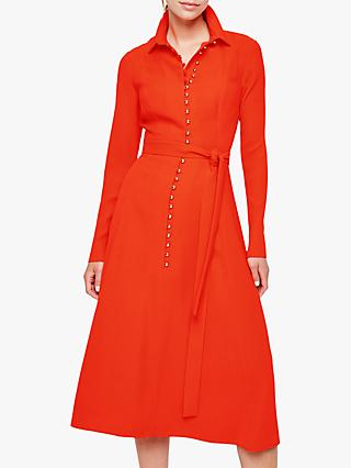 Damsel in a Dress Lanie Military Dress, Orange