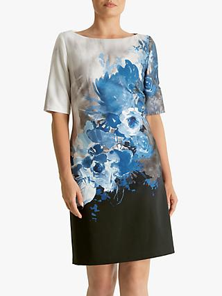 Fenn Wright Manson Rosine Floral Print Dress, Blue
