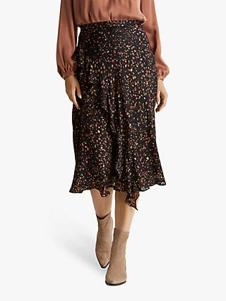 Fenn Wright Manson Rosalie Skirt, Black/Toffee
