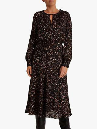 Fenn Wright Manson Rosalie Dress, Black/Toffee