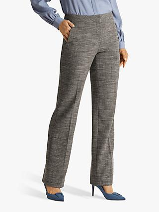 Fenn Wright Manson Megane Trousers, Black/Ivory Check