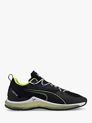 PUMA LQDCELL Hydra Men's Cross Trainers, Black/Yellow Alert