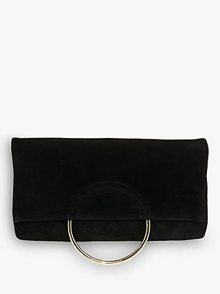 Phase Eight Emma Handle Clutch Bag, Black