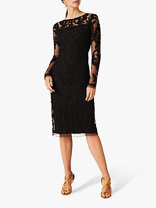 Phase Eight Nikita Tapework Lace Dress
