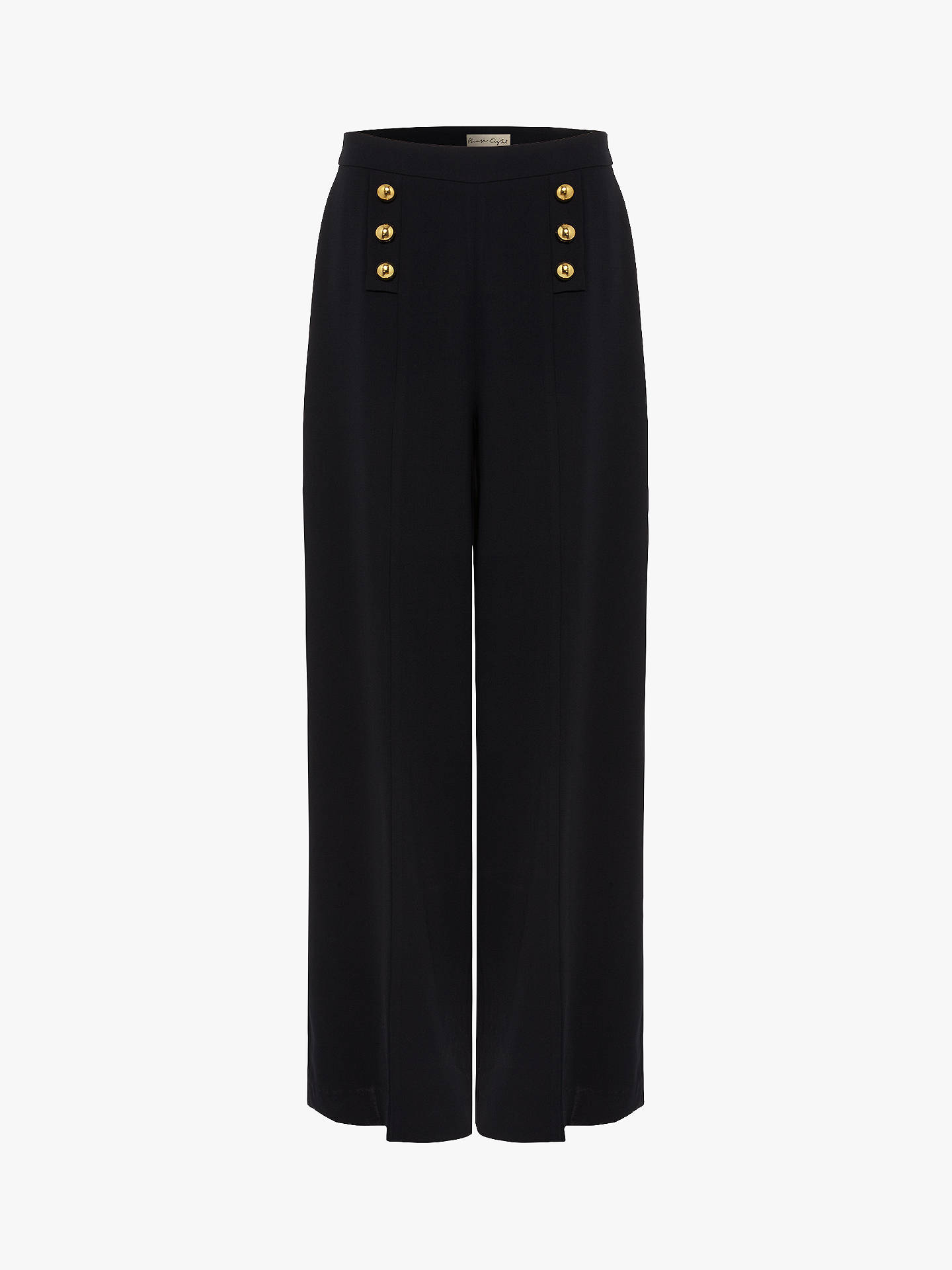 Phase Eight Sanitta High Waist Trousers, Navy by Phase Eight