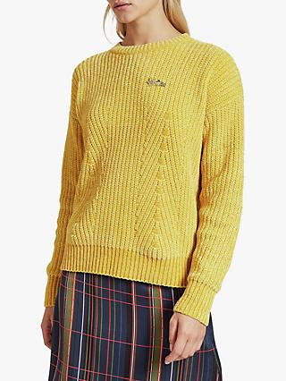 Ted Baker Innia Chenille Stitch Jumper, Yellow