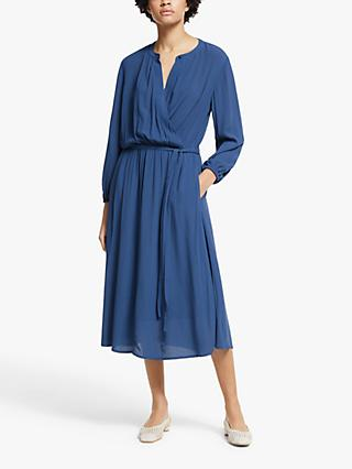 John Lewis & Partners Soft Texture Dress