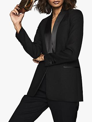 Reiss Ally Tailored Jacket, Black